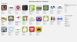 iPhone Rideshare apps