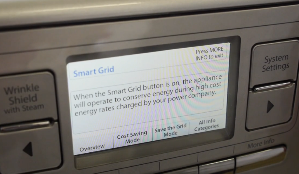 Smart Appliance Screen