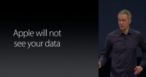 Apple Does Not See Your Data